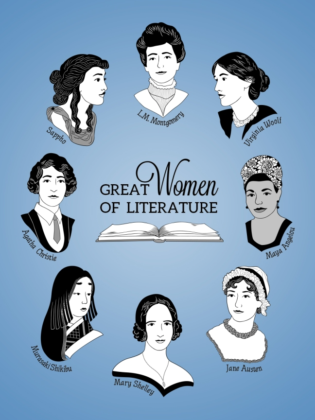 ladies of literature SET PROMO