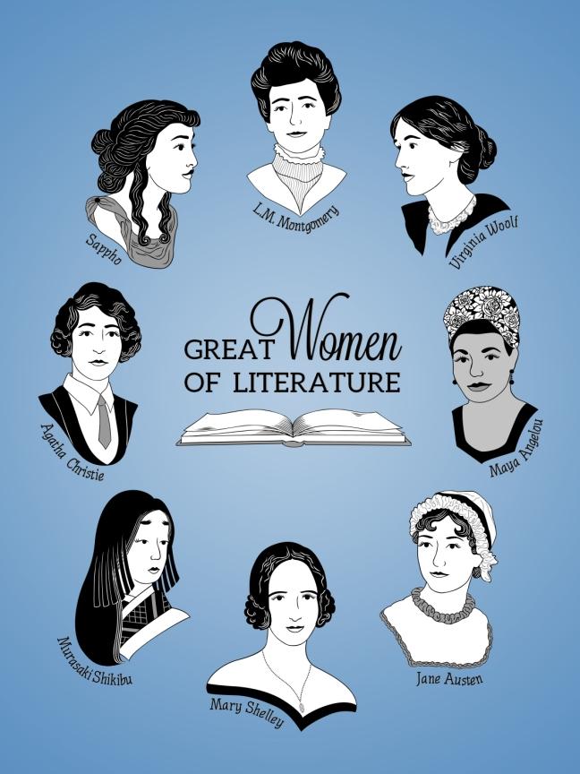 ladies of literature SET PROMO