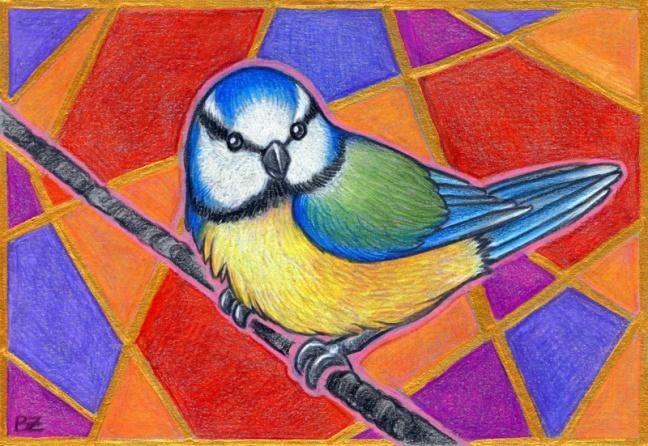 Birdazzling Blue Tit