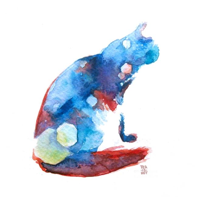 Rainbow Cat Small