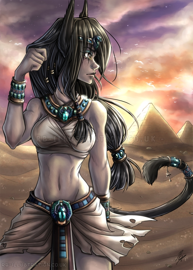 Egyptian girl colour final