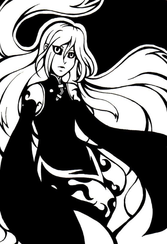 Lyssa Black and White