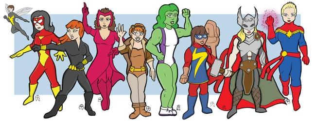 Avengers Women-1000