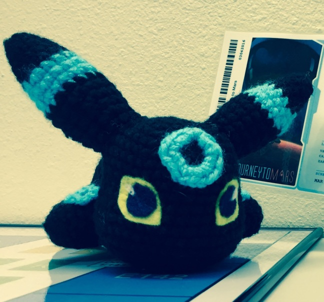 Baby umbreon doll
