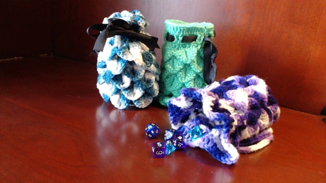 dragon egg dice bags