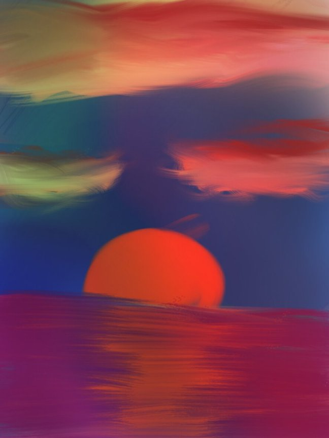 sunset_color_sketch_by_carenrose-d9s1yyr