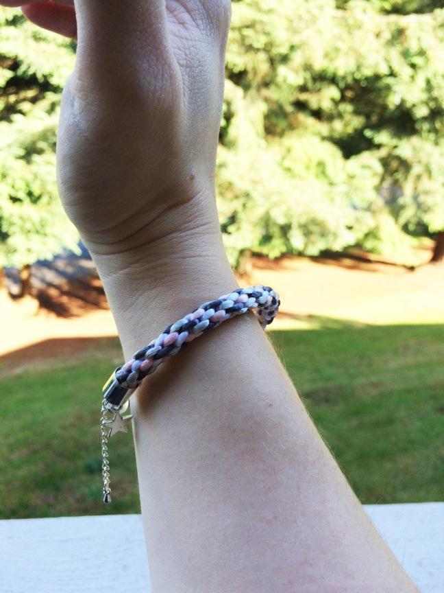 Demigirl Kumihimo Bracelet
