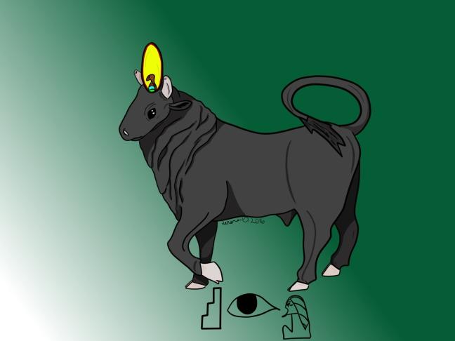 Wesir as a bull