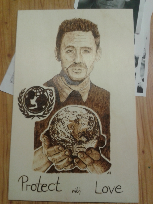 T. Hiddleston craft