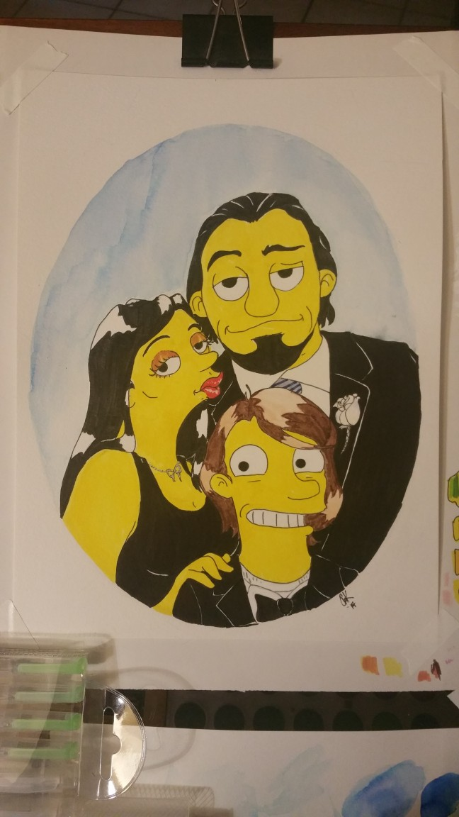 Simpsons Commision