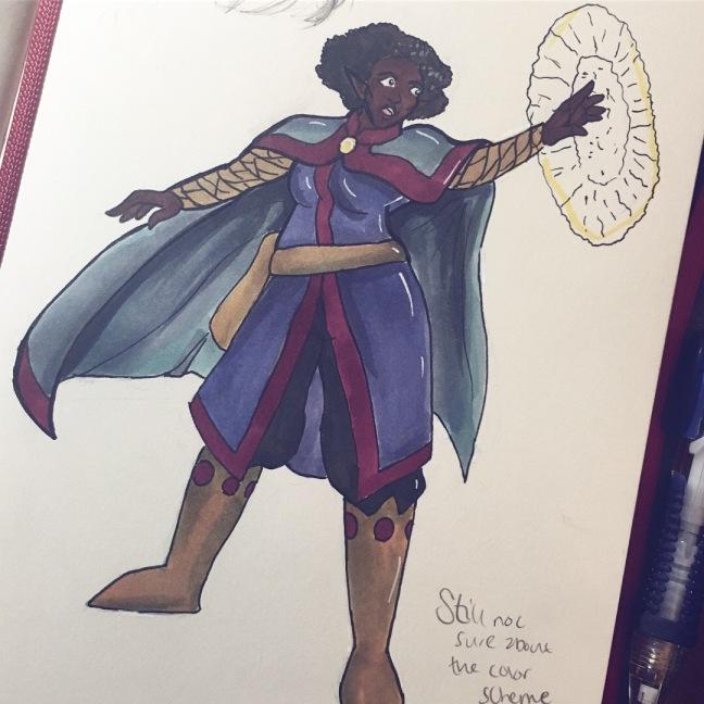 Liya Character Design