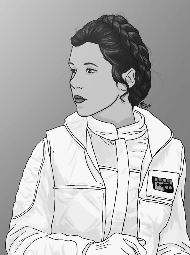 Princess Leia grey