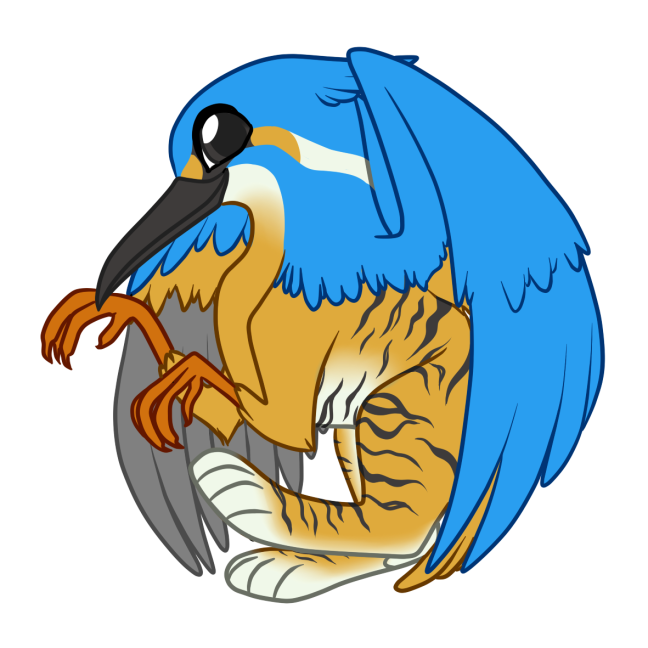 5. Round KingfisherGriff