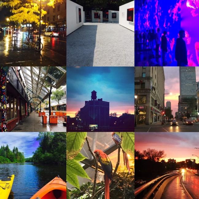 montage instagram