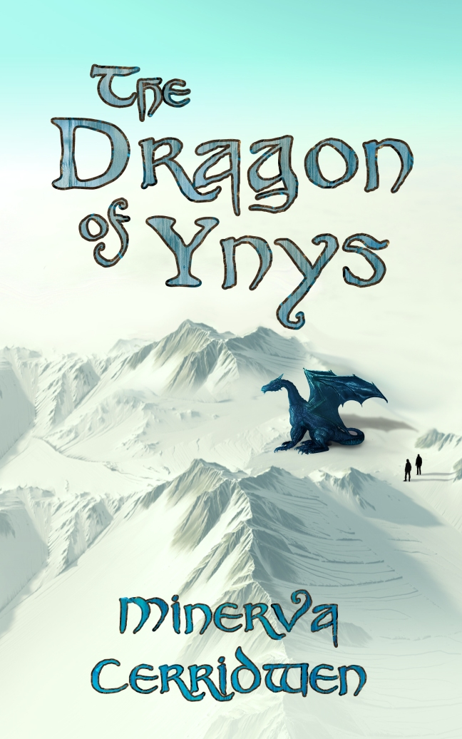 02 Cover for 'The Dragon of Ynys' by Kirby Crow