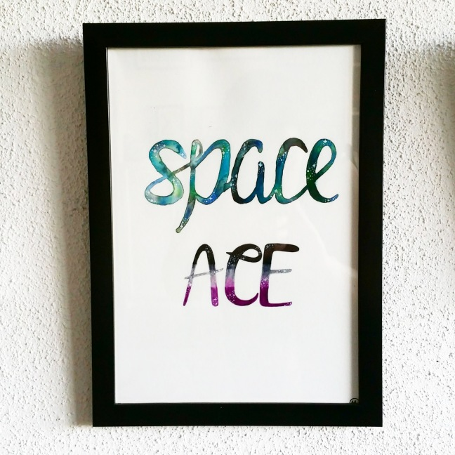 04 Space Ace 2 for Tanouska - watercolour - 2018