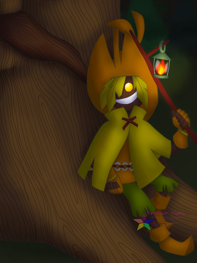 5. skull kid and deku tree