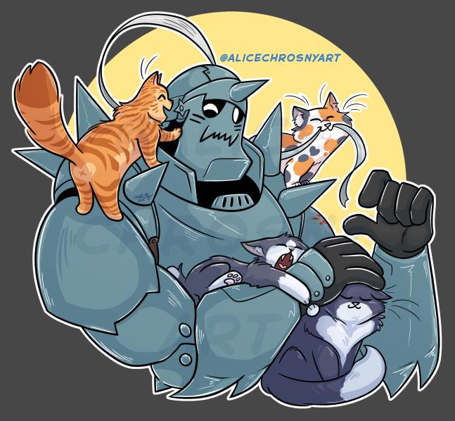 3. Alphonse Cats