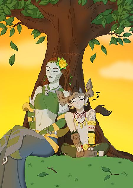 2. Inara and Talus